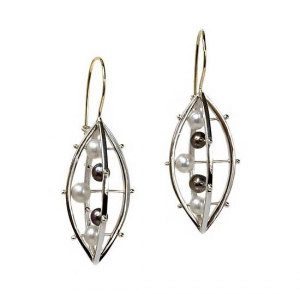 Abacus Criss Cross Earring by Patricia Madeja