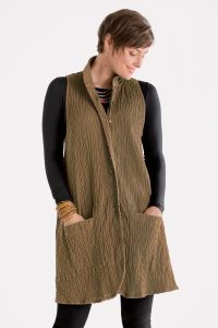Meander Vest by Cynthia Ashby