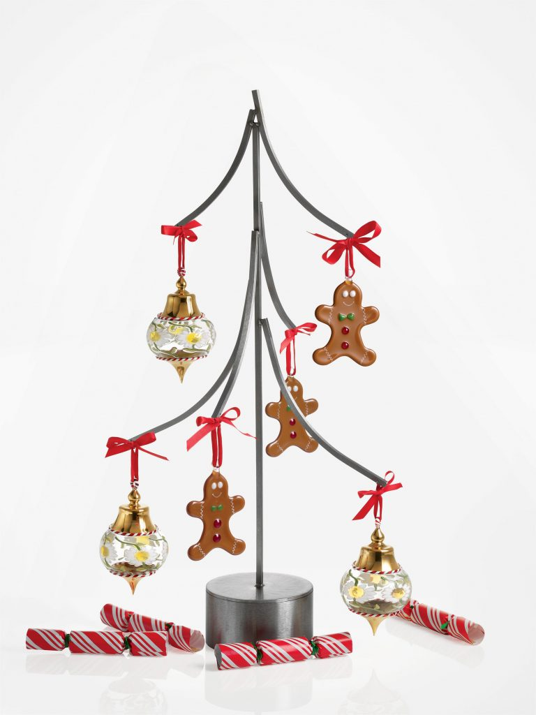 tree ornament display