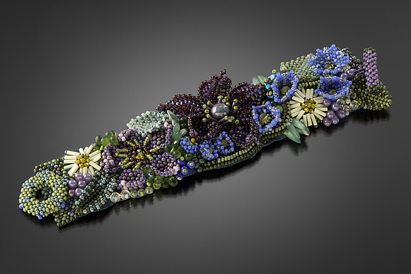 Delphinium Cuff by Julie Powell
