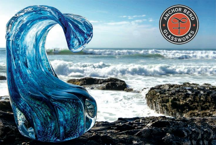 Glass Wave by Anchor Bend Glassworks