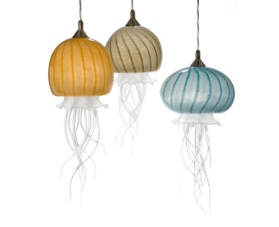 Sun, Sand, and Sea Lamps by Jennifer Umphress