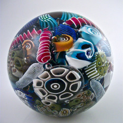 Ocean Reef Paperweight by Michael Egan