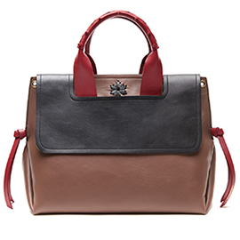 Virginia Leather Bag by Maliparmi available at Artful Home
