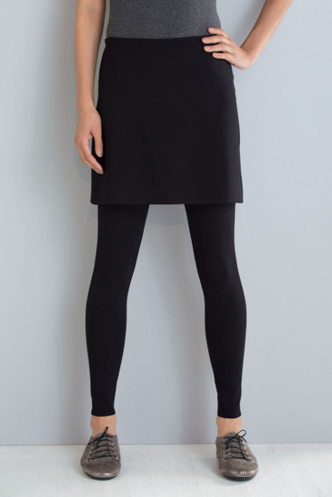 Skirted Leggings by F.H. Clothing Company
